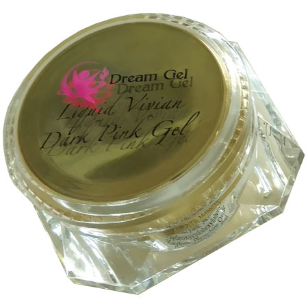 DREAM Gel Liquid Vivian Dark Pink Gel